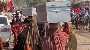 سازمان ملل آمار بیجا شدگان داخل افغانستان را منتشر کرد