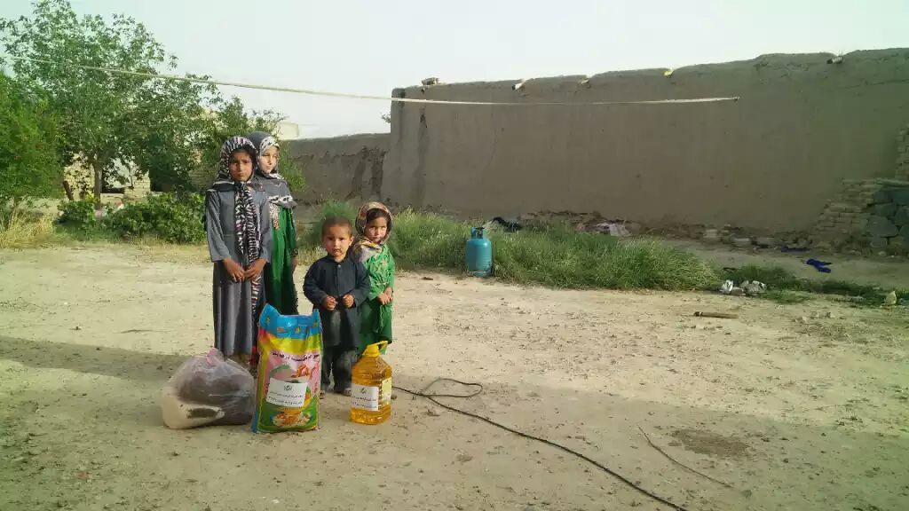 کمک های خیریه کرامت در افغانستان